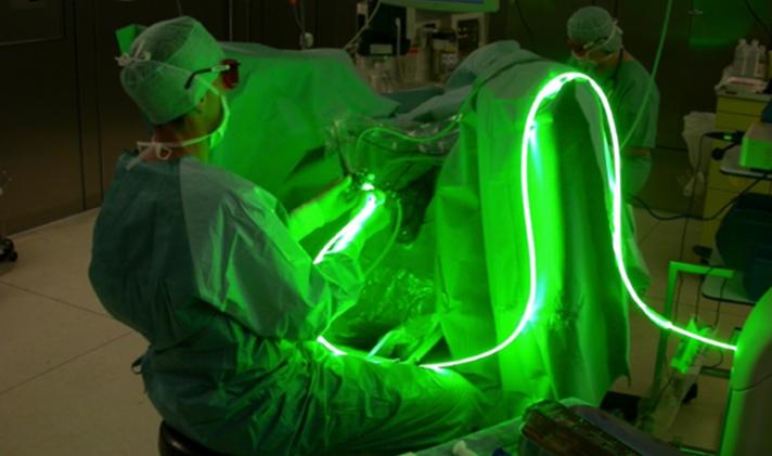 Green Light Laser behandeling van de prostaat.
